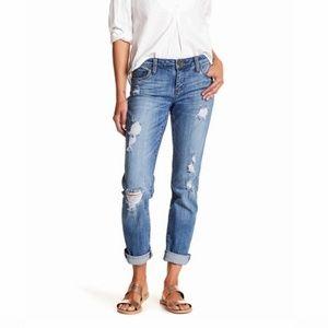 Kut From The Kloth Katy Boyfriend Distressed Jeans